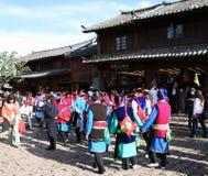 городок lijiang Стоковая Фотография RF