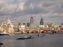 городок london стоковая фотография