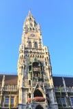 городок marienplatz залы Стоковая Фотография RF