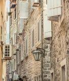 городок montenegro budva старый Первый помин этого города больше чем 25 столетий тому назад стоковые фото