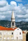 городок montenegro budva старый Стоковые Изображения