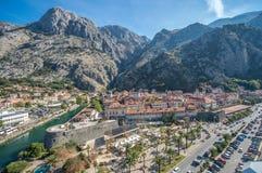 городок montenegro kotor старый Стоковое фото RF
