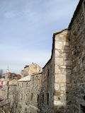 городок mostar старый Стоковые Фотографии RF