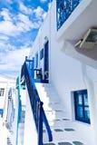 городок mykonos стоковое фото rf