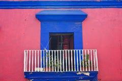 городок oaxaca старый Стоковые Изображения RF