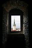 городок olomouc залы Стоковые Фотографии RF
