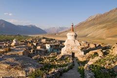 Городок Padum, Ladakh стоковое фото rf