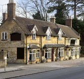 городок pub стоковое фото rf