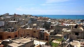 городок sidon Ливана старый Стоковые Изображения RF