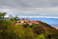 Городок Signagi в Georgia Стоковые Изображения RF