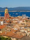 Городок St Tropez, Франции стоковые фото