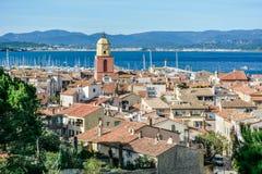 Городок St Tropez стоковые изображения