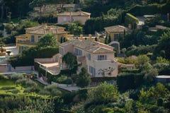 Городок St Tropez стоковая фотография rf