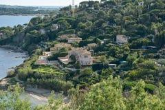 Городок St Tropez стоковые фото