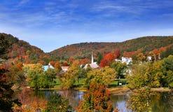 Городок Tidioute в Пенсильвании Стоковая Фотография RF