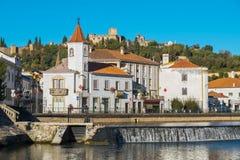 Городок Tomar Португалия Стоковые Изображения RF