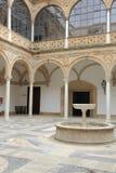 городок ubeda jaen Испании залы двора Стоковая Фотография RF