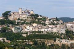 городок umbria Италии amelia старый Стоковые Изображения RF