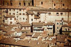 городок urbino Италии средневековый Стоковое фото RF