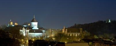 городок vilnius scape Стоковая Фотография RF