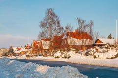 Городок Vordingborg в Дании Стоковая Фотография