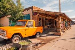 Городок Williams трассы 66 около гранд-каньона стоковая фотография rf