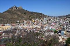 Городок Zacatecas старый в Мексике стоковая фотография rf