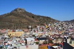 Городок Zacatecas старый в Мексике стоковое фото rf