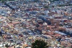 Городок Zacatecas старый в Мексике стоковые изображения