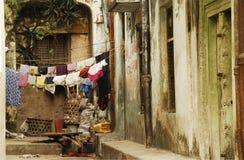городок zanzibar проходов каменный Стоковая Фотография