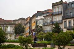 Городская архитектура в Порту, Poprtugal Стоковые Изображения RF