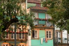 Городская архитектура в Порту, Poprtugal Стоковая Фотография