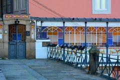 Городская архитектура в центре города, Порту, Португалия стоковое фото rf