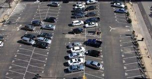 городская внешняя стоянка автомобилей Стоковые Изображения RF