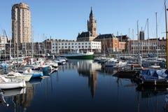 городская гавань dunkerque Стоковое фото RF