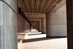 Городская геометрия теней стоковое фото rf