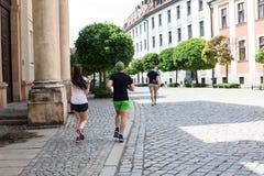 Городская жизнь Польши Wroclaw Стоковое фото RF