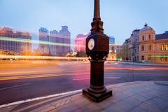 Городская конструкция и транспорт стоковое фото rf