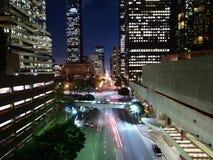 городская ноча la Стоковые Фотографии RF