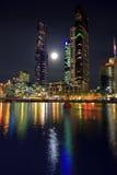 городская ноча melbourne Стоковые Изображения RF