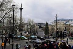 Городская площадь центра Лондона стоковые фото