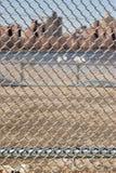 Городская предпосылка текстуры конспекта крупного плана звена цепи Стоковое фото RF