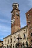 Городская ратуша Вероны, Италии стоковая фотография rf