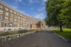 Городская ратуша в Бристоле стоковые фото