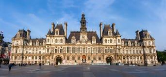 Городская ратуша Гостиница de Ville, Париж, Франция стоковые изображения rf