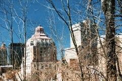 Городская ратуша Asheville стоковое фото rf