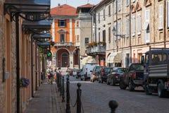 Городская ратуша Volpedo стоковая фотография