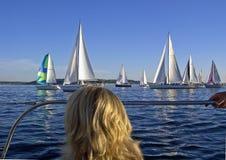 городская серия sailing Стоковая Фотография