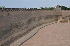 Городская стена Pingyao, Китая стоковое фото