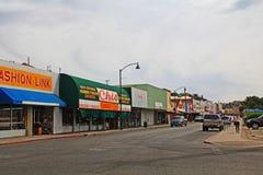 Городская улица в Nogales, Аризоне, США стоковая фотография